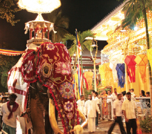 The annual prestigious cultural pageant of the Gangaramaya Temple